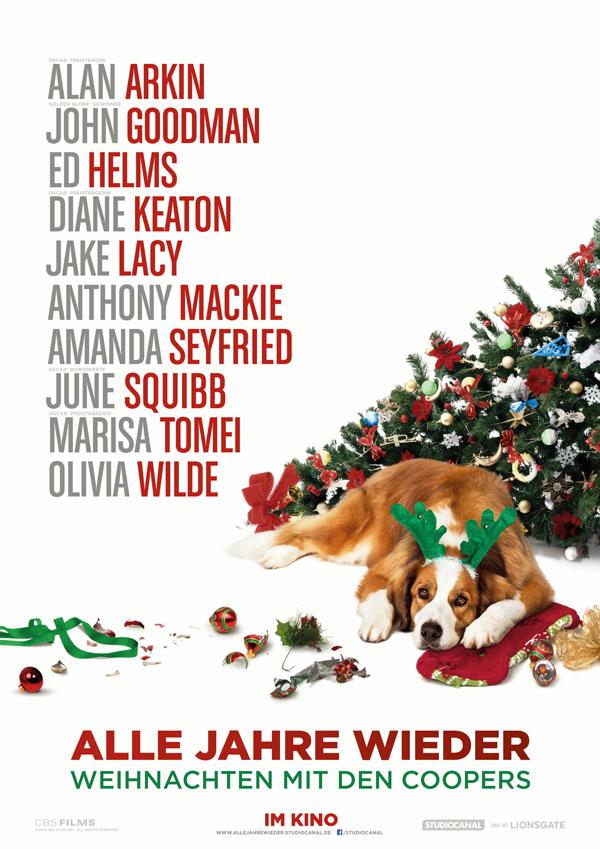 Alle Jahre wieder - Weihnachten mit den Coopers Kinoposter