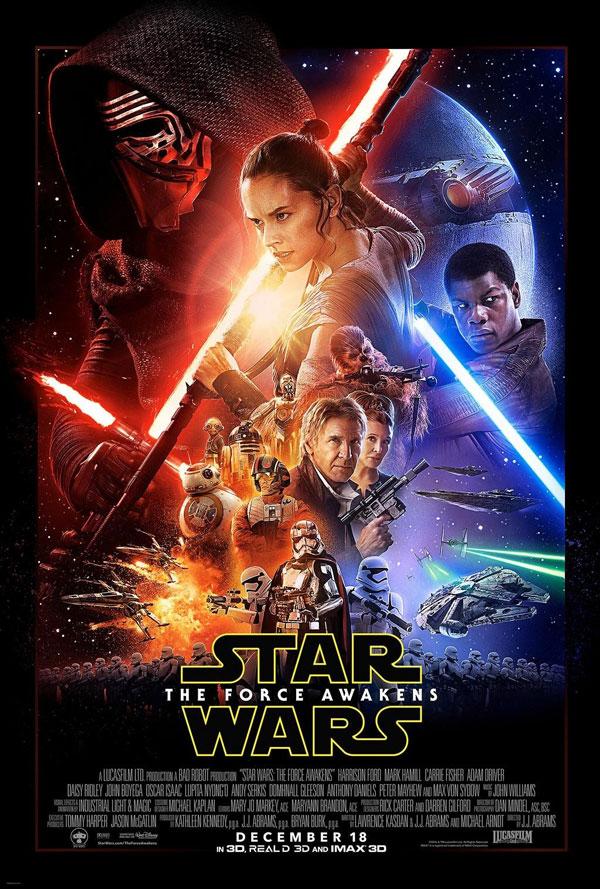 Star Wars: Episode VII - Das Erwachen der Macht Kinoposter