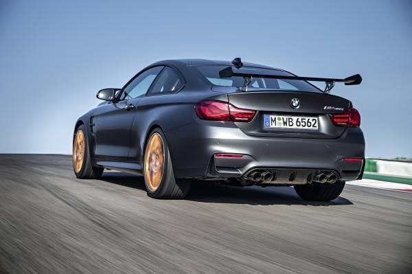 BMW M4 GTS Heckansicht
