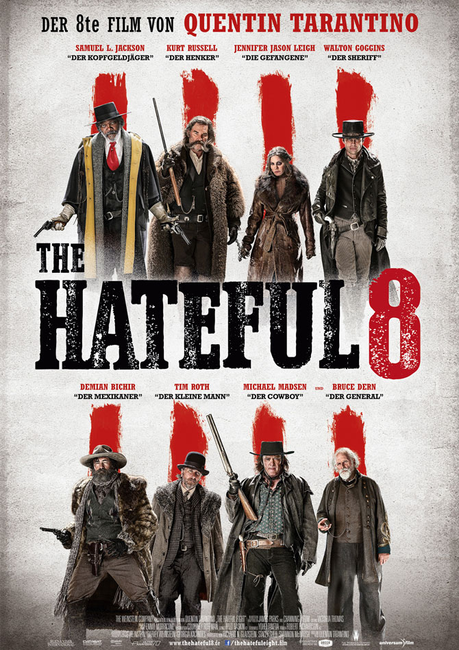The Hateful 8 Kinoposter