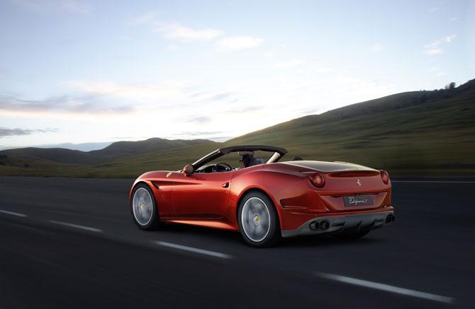 Ferrari California T  Seitenansicht