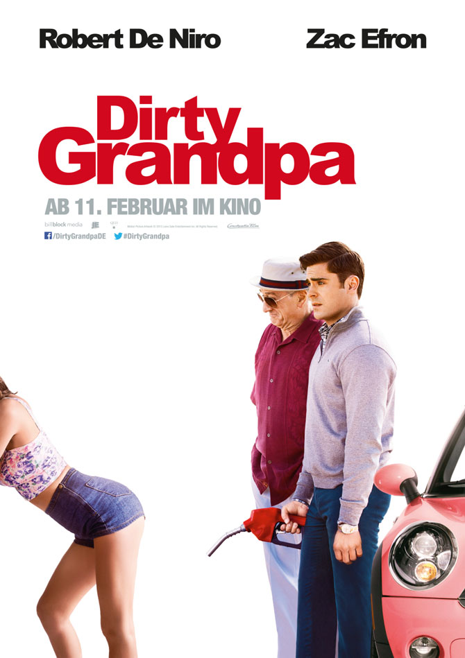Dirty Grandpa Kinoposter