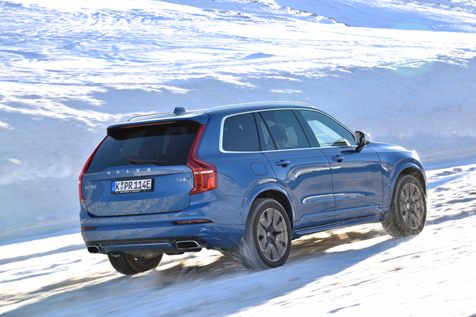 VOLVO XC90 T8 Twin Engine Rückansicht