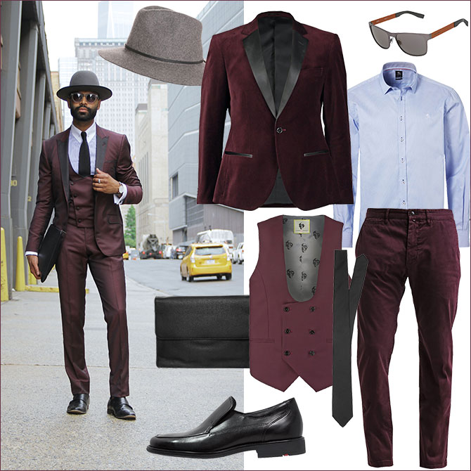 Dandy-Style Look 1