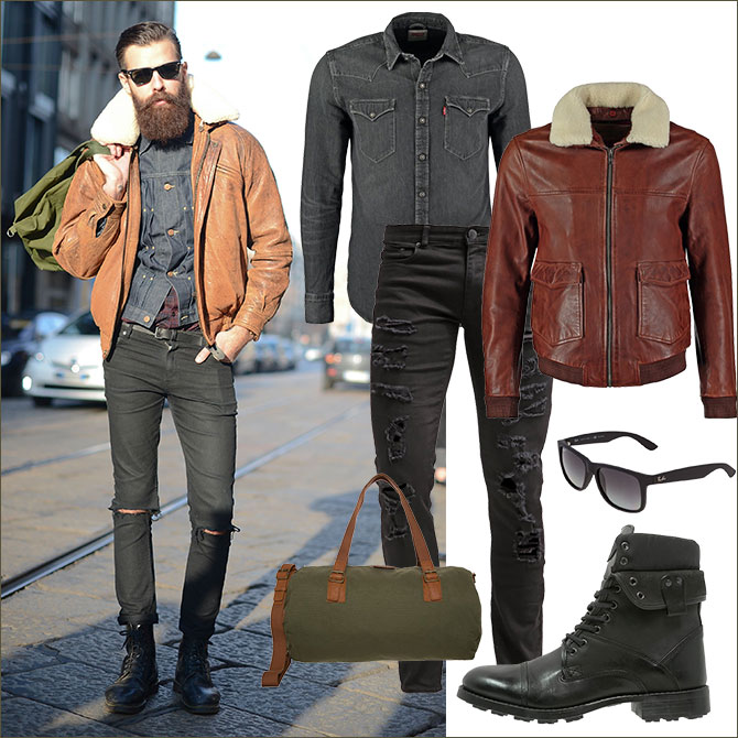 Dandy-Style Look Outfit 3