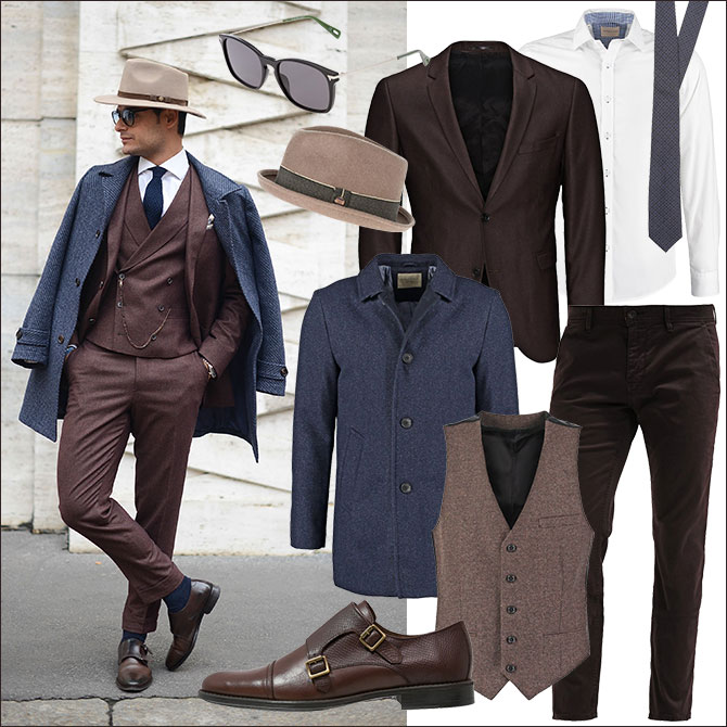 Dandy Style Outfit Look