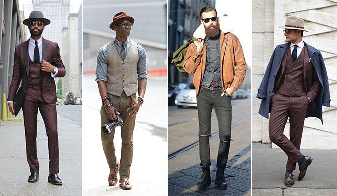 Lässiger style männer