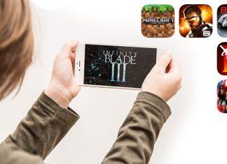 Smartphone Games unterwegs
