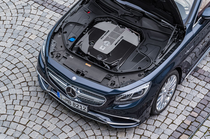 S-Klasse Cabrio Motor
