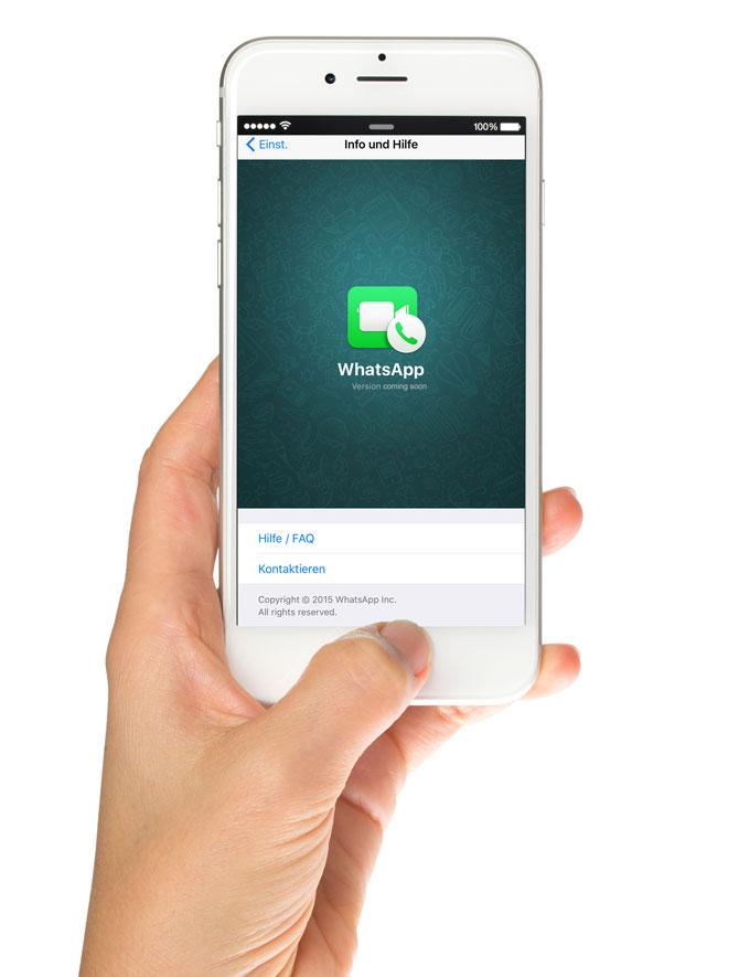 WhatsApp Videochat Update