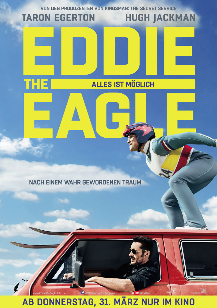 Eddie The Eagle Kinoposter
