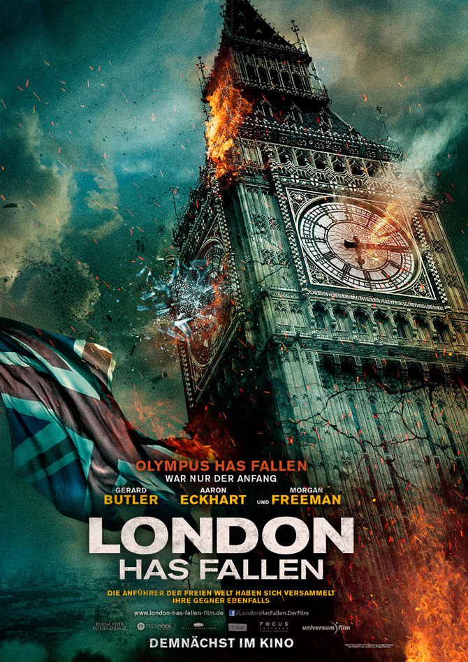 London Has Fallen Kinoposter