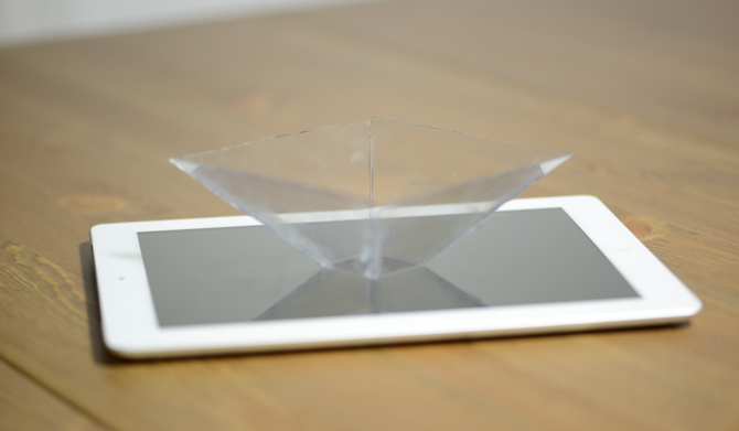 Smartphone Hologramm
