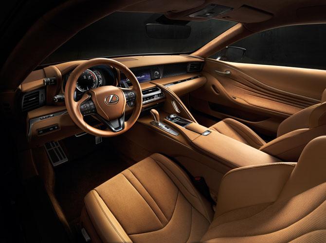 Lexus LC 500 Innenraum