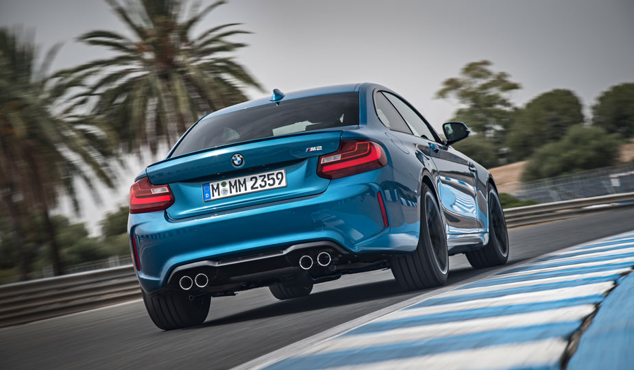 BMW M2 Coupe Heck