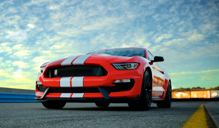 Ford Mustang Shelby GT 350 Front