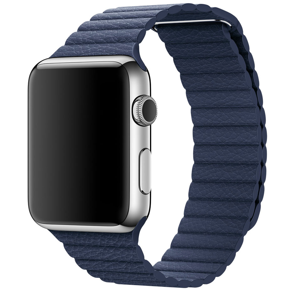 Apple Watch Lederarmband mit Schlaufe