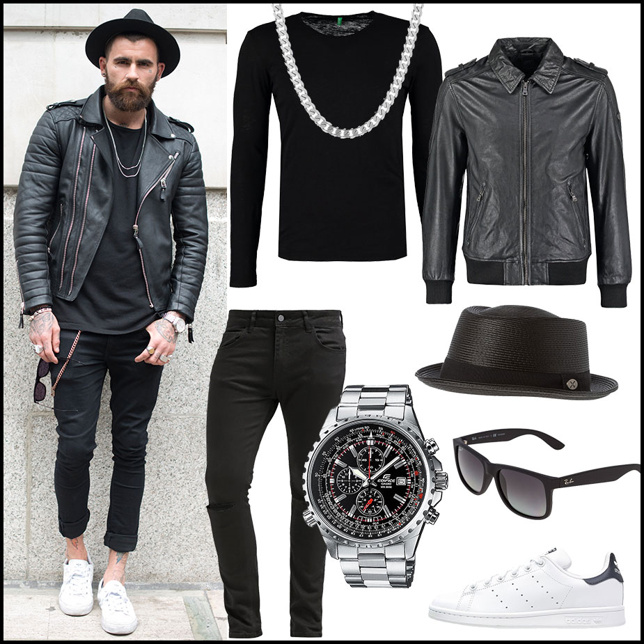 Black is the new (old) Black Street Style