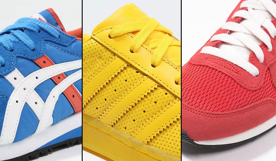 Trend Sneaker Monochrom vs. Retro