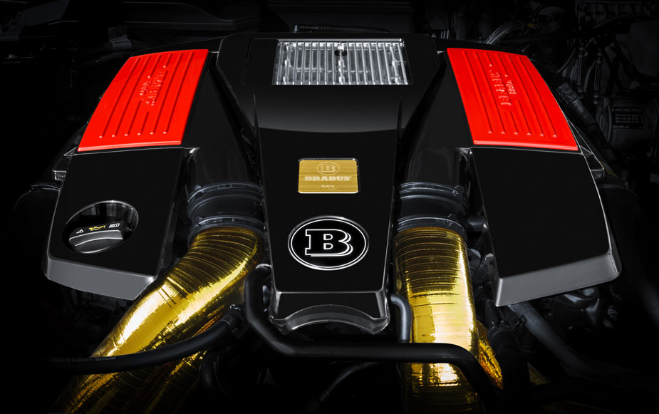 BRABUS B63S – 700 6x6 Motor