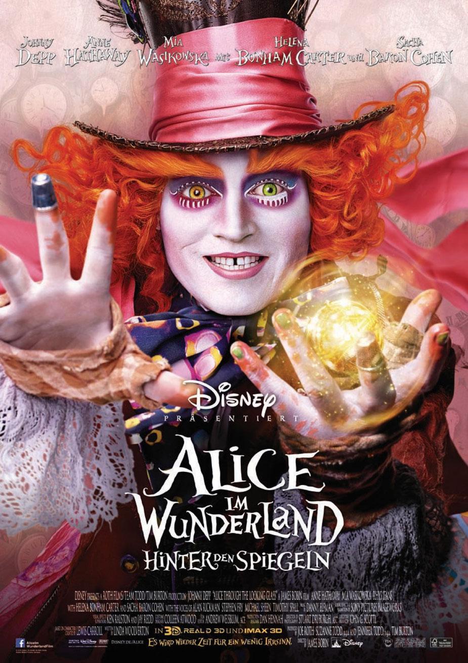 Alice im Wunderland 2: Hinter den Spiegeln Kinoposter