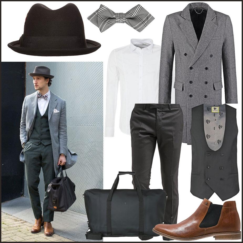 Dandy Style Street Look