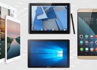 Die vier besten Tablets auf dem Markt