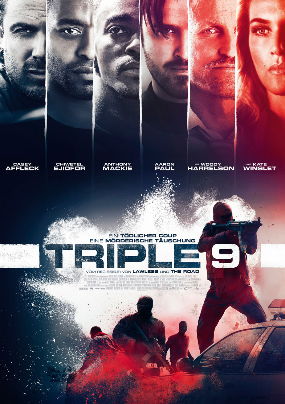 Triple 9 Filmposter