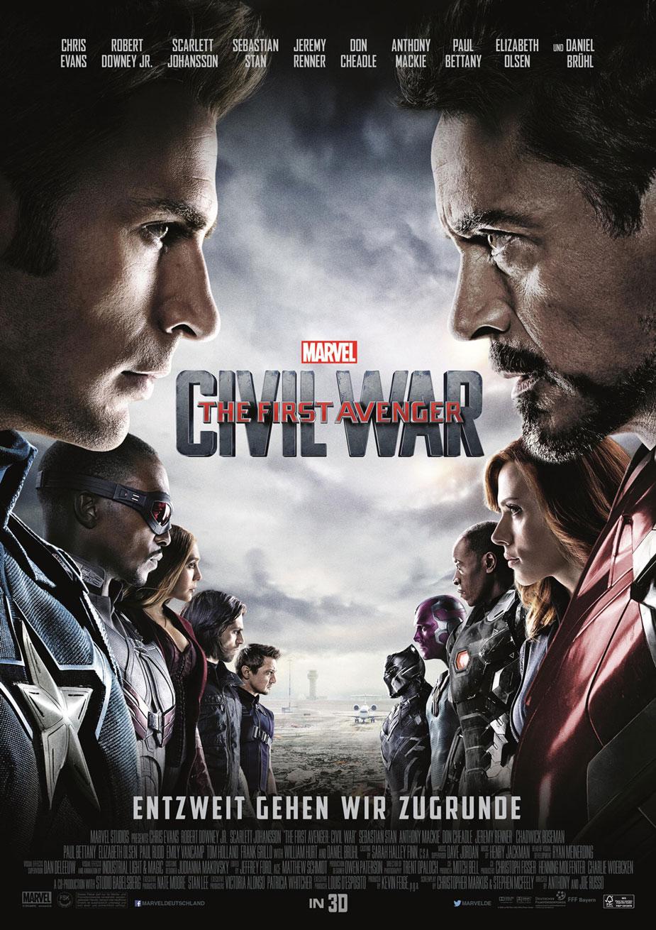 The First Avenger: Civil War  Kinoposter