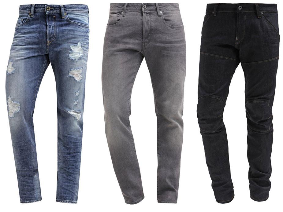 Männer Jeans Trends