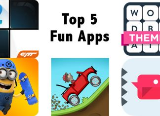 Top 5 Fun Apps