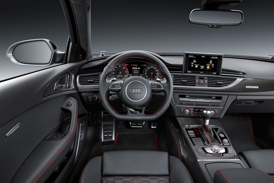 Audi RS6 Performance Cockpit