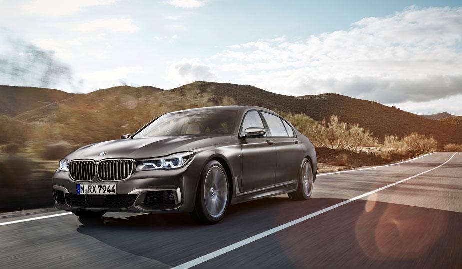BMW M760Li xDrive Fahrt