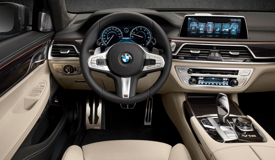 BMW M760Li xDrive Innenraum