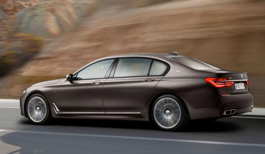 BMW M760Li xDrive Seite