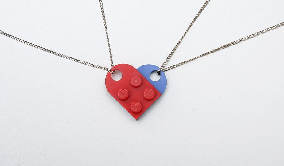 Lego Hack Herz Kette