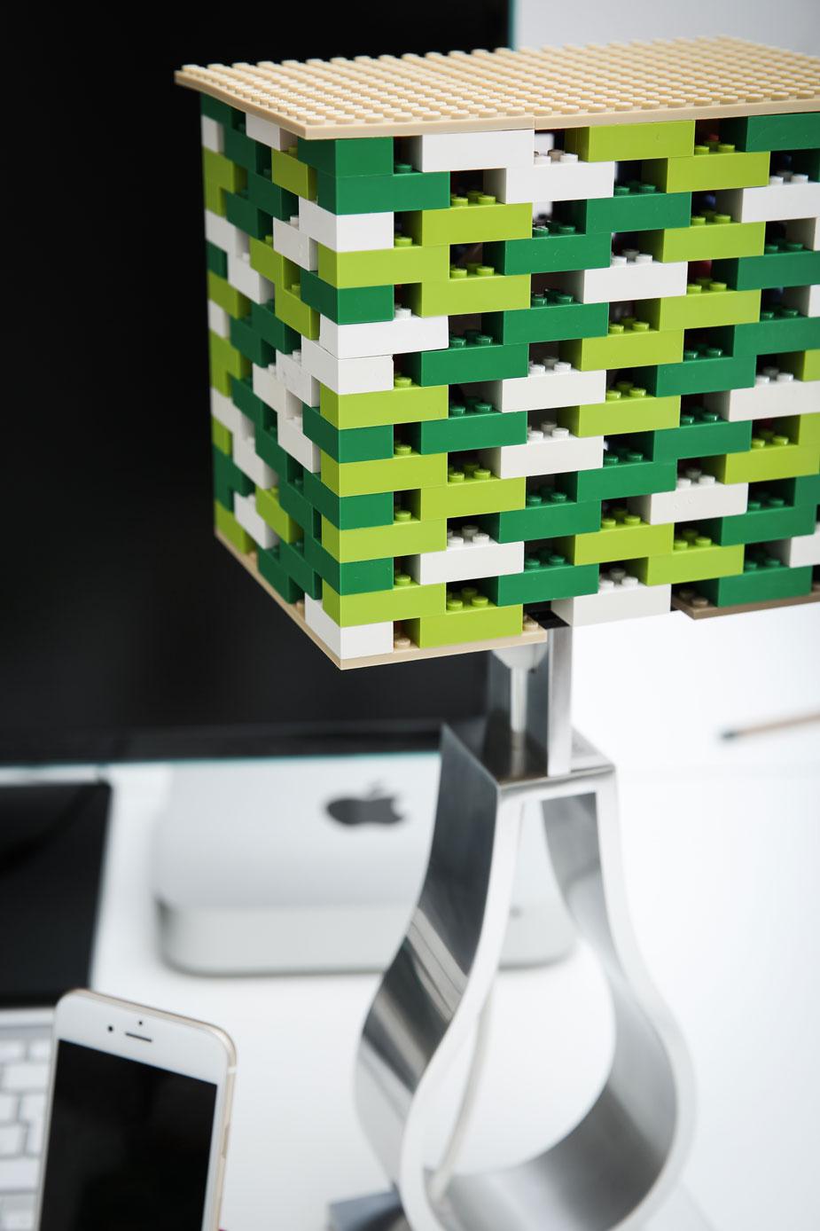 Lego Hack Lampe