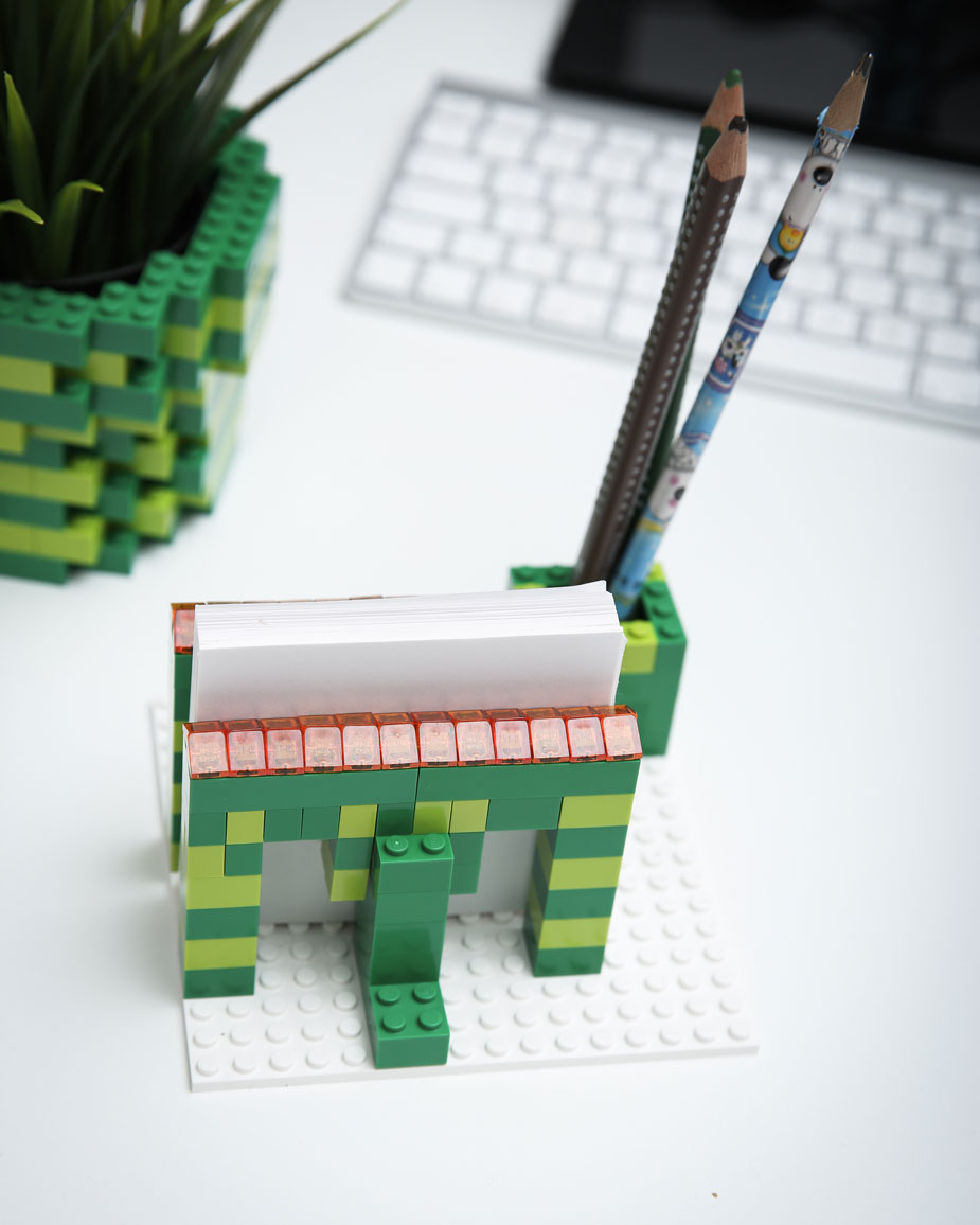 Lego Hack Stiftehalter