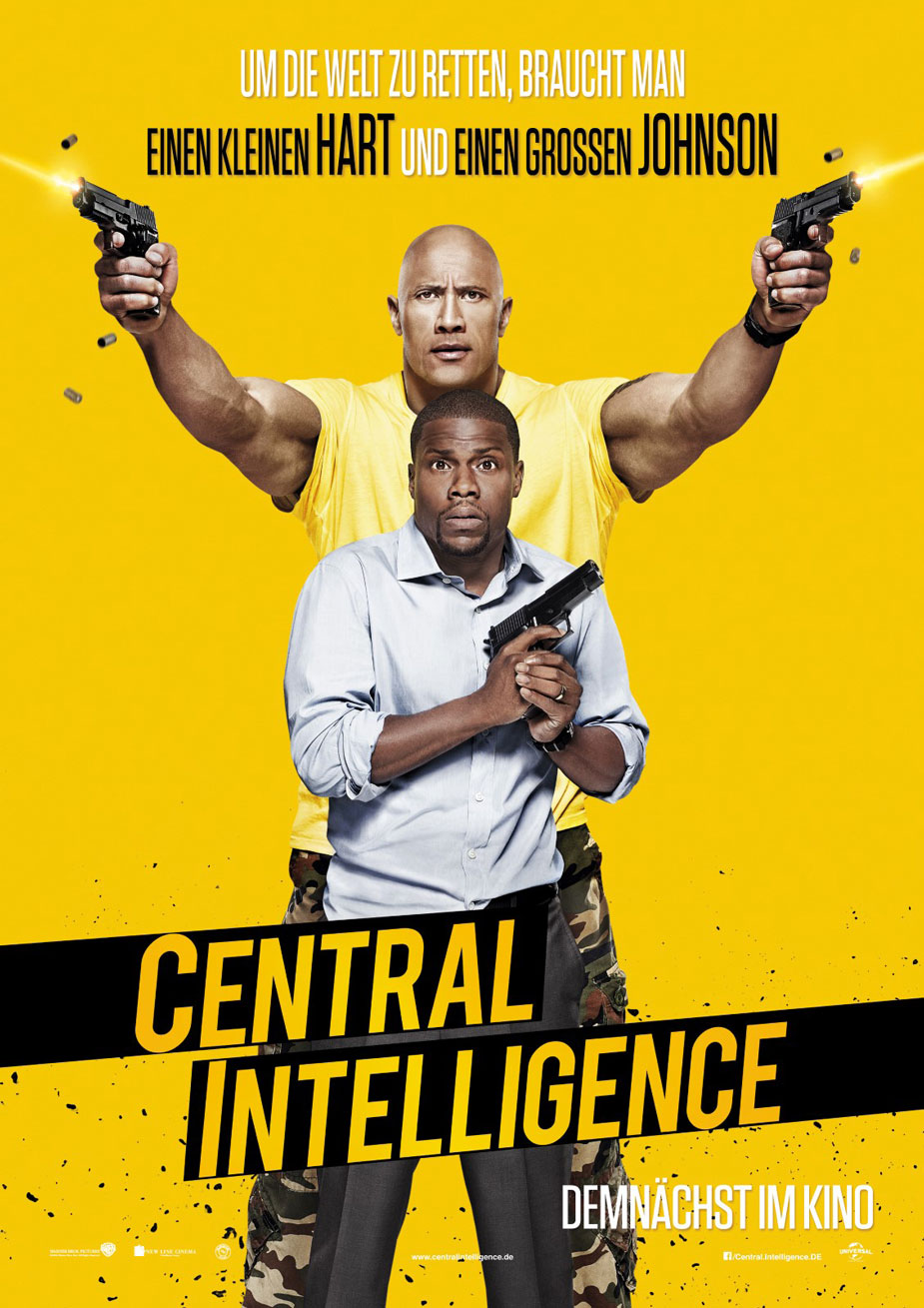 Central Intelligence Kinoposter