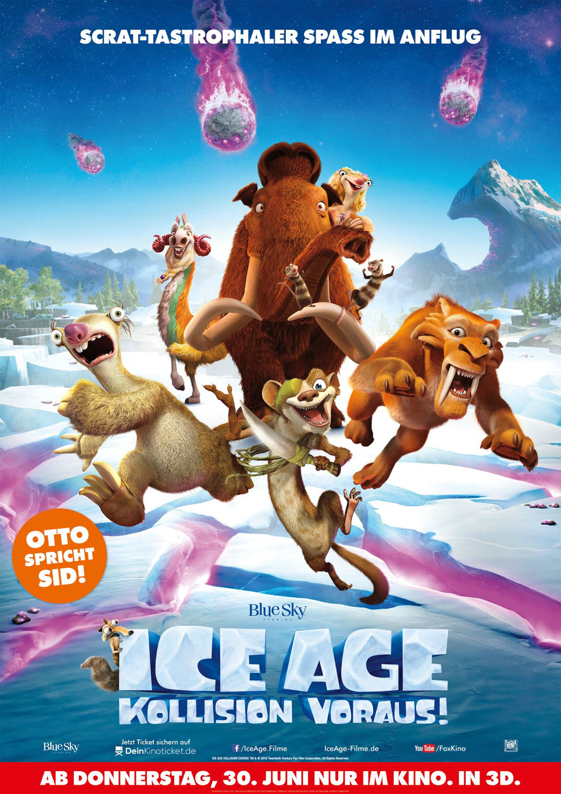 Ice Age - Kollision voraus!  Filmposter