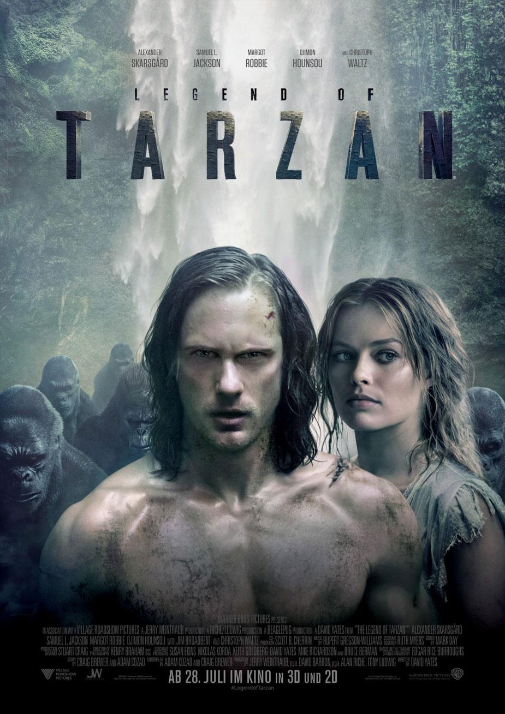 Legend of Tarzan Kinoposter