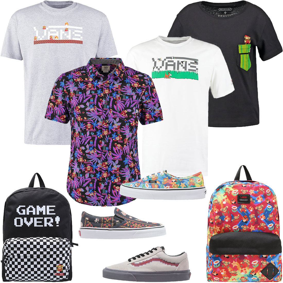 VANS Nintendo Fashion