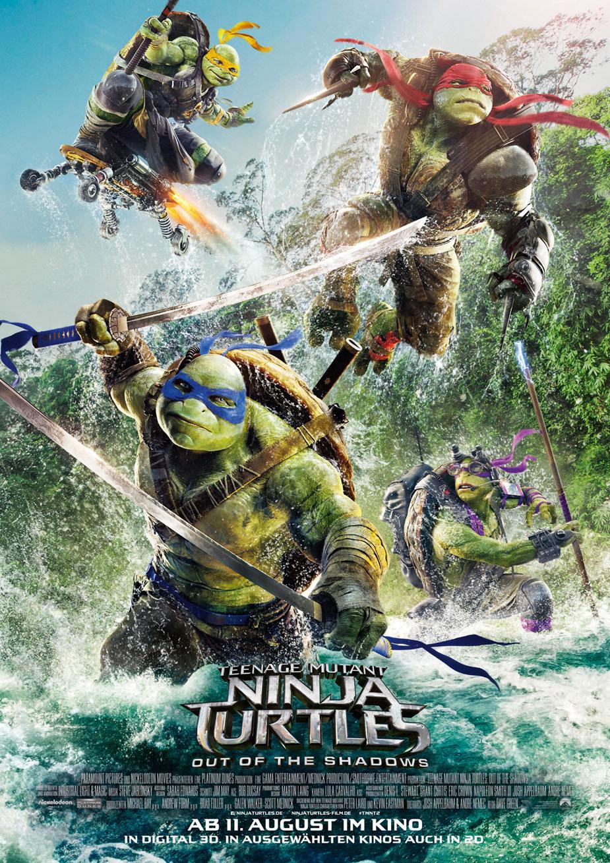 Teenage Mutant Ninja Turtles 2 Kinoposter