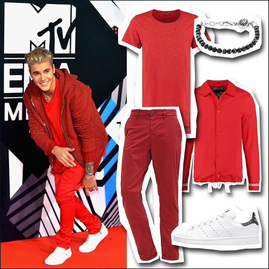 Justin Bieber Look