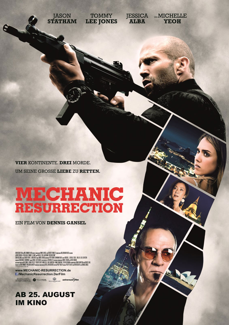 Mechanic: Resurrection Kinoposter