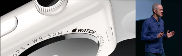 Die neue Apple Watch in Keramik