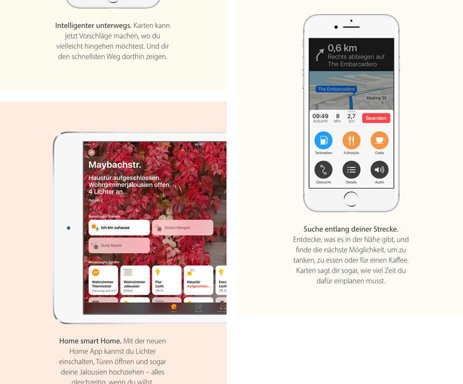 iOS 10 Neuerungen