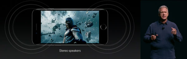 Stereo Speaker im iPhone 7