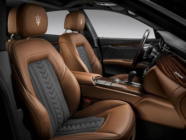 Maserati Quattroporte Innenansicht