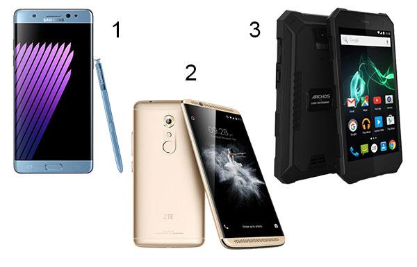 IFA 2016 Smartphones